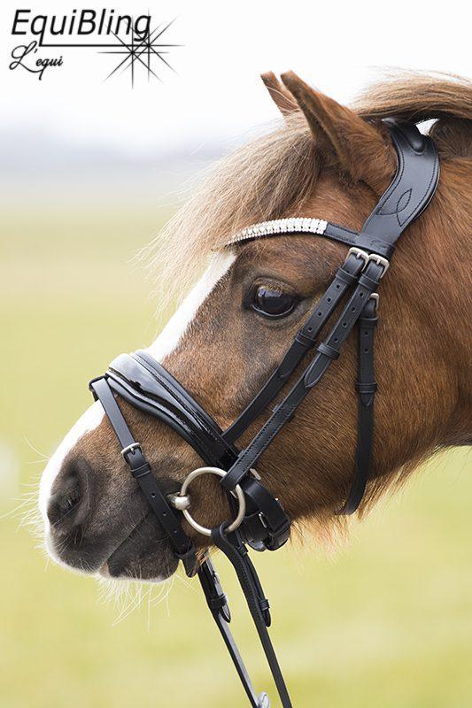 Onwijs L'equi Zonik anatomisch hoofdstel, maat Pony - EquiBling NN-33